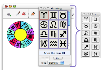 Example of converting a Claris Draw drawing to a native EazyDraw drawing.