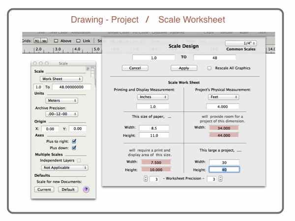 Printables Scale Drawing Worksheet drawing to scale scaled worksheet